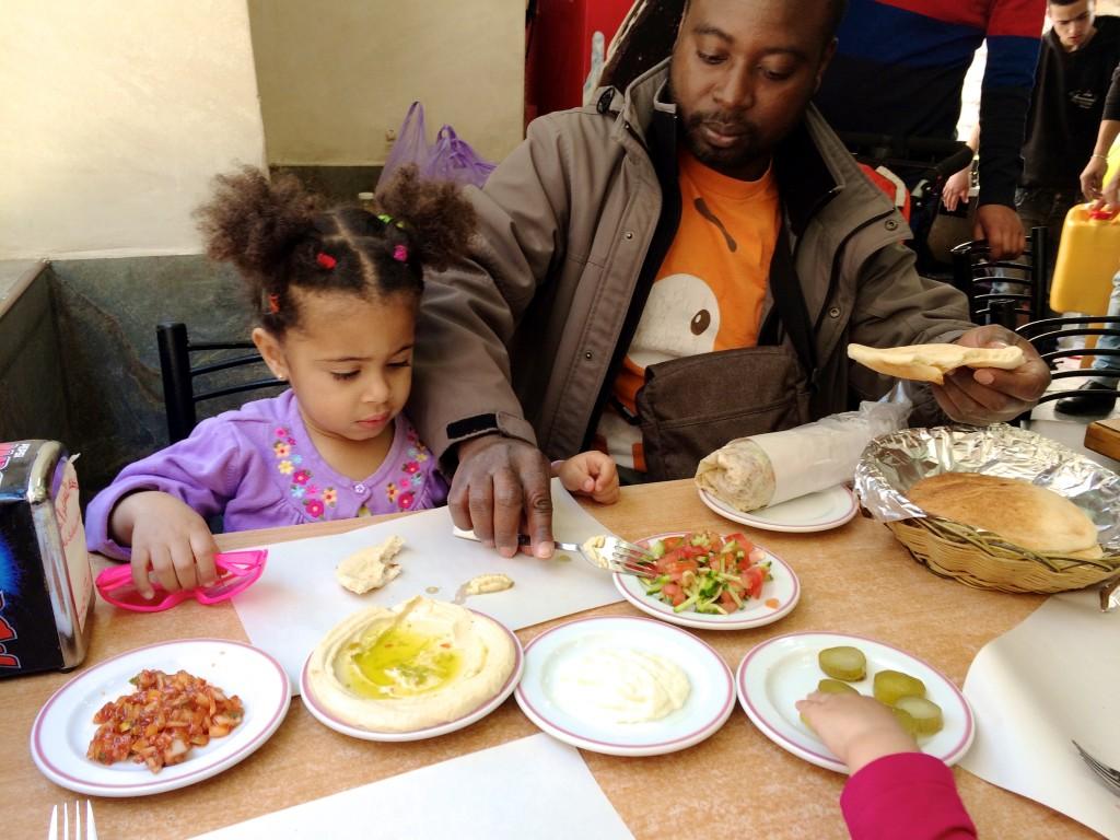 Lunch at Al Sufara, Bethlehem